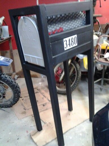 Welding Projects Diy Mailbox For The Home In 2019