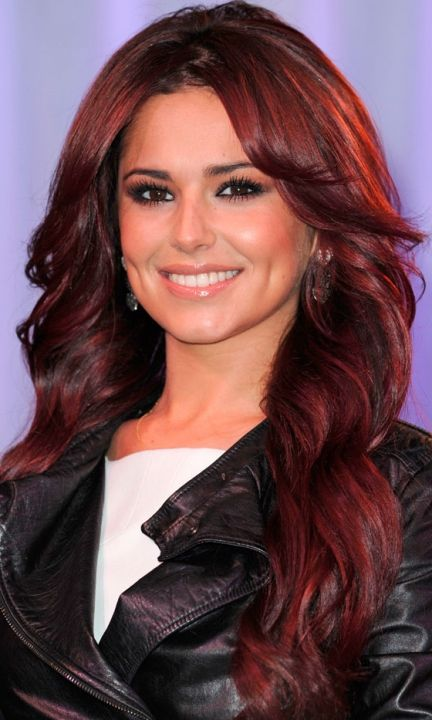 Cheryl Cole Cherry Hair