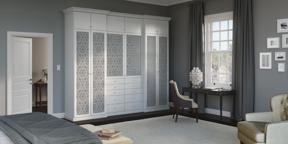 Eliminate Bedroom Clutter With A Custom Built In Closet From