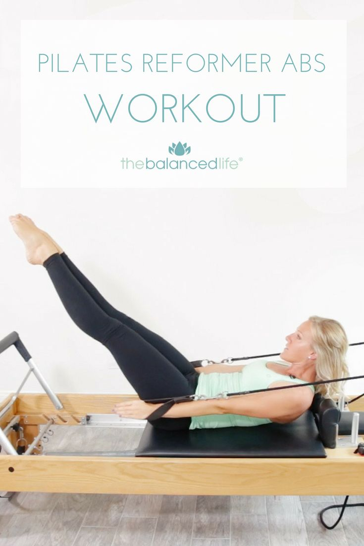 Pilates Reformer Abs Workout - The Balanced Life