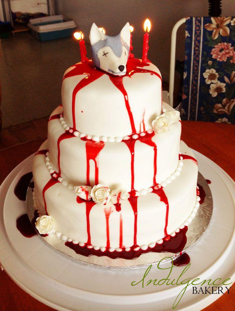 Game of Thrones Red Wedding Birthday Cake Indulgence Bakery