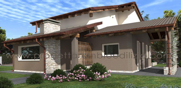 Villetta tradizionale cerca con google case for Casa unifamiliare tradizionale