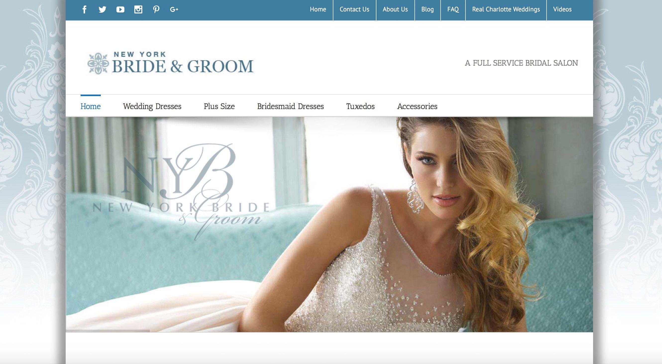 New York Bride & Groom | Charlotte, NC Bridal Shop | Charlotte, NC ...