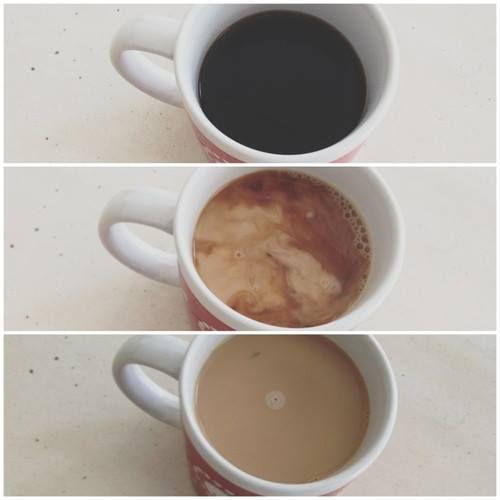 americano to latte