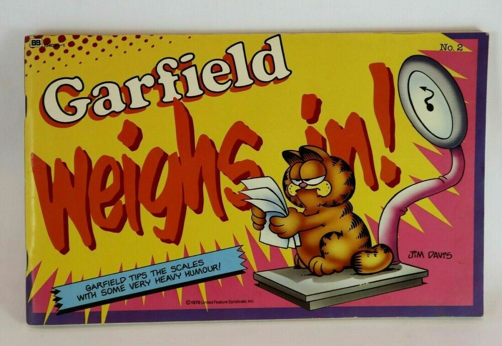 Garfield Listens to His Gut His 62nd Book
