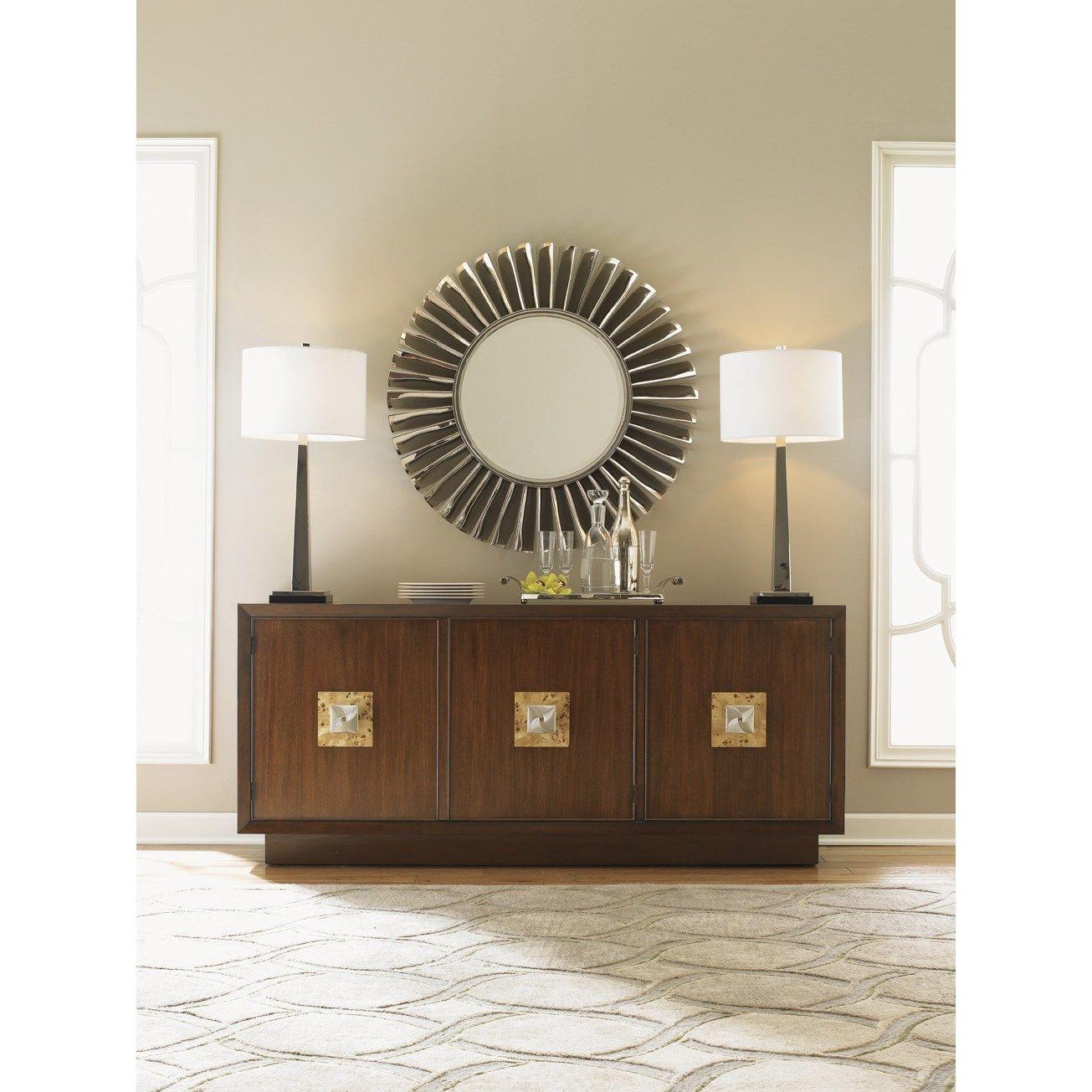 lexington furniture visit fontaine mirage mirror round decor