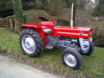 vintage massey ferguson tractors 135 2nd Generation