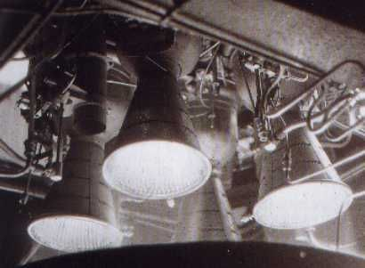 Bristol Siddeley Gamma 301 HTP / Kerosene engine on test.