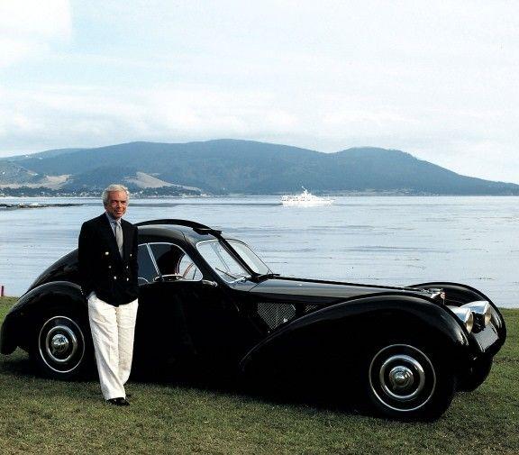 Ralph Laurenu0027s Car Collection: The Ultra Rare 1936 Bugatti Type 57SC  Atlantic Worth An Estimated 40 Million.