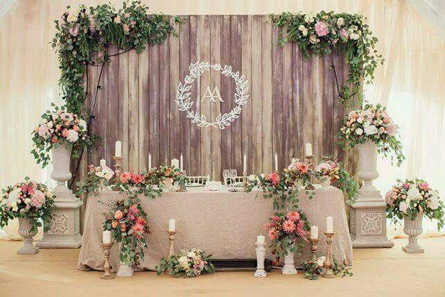 Head Table Backdrop Pallet Wedding Centerpieces Decorations Lighting Decor Rustic Backdrops Engagement