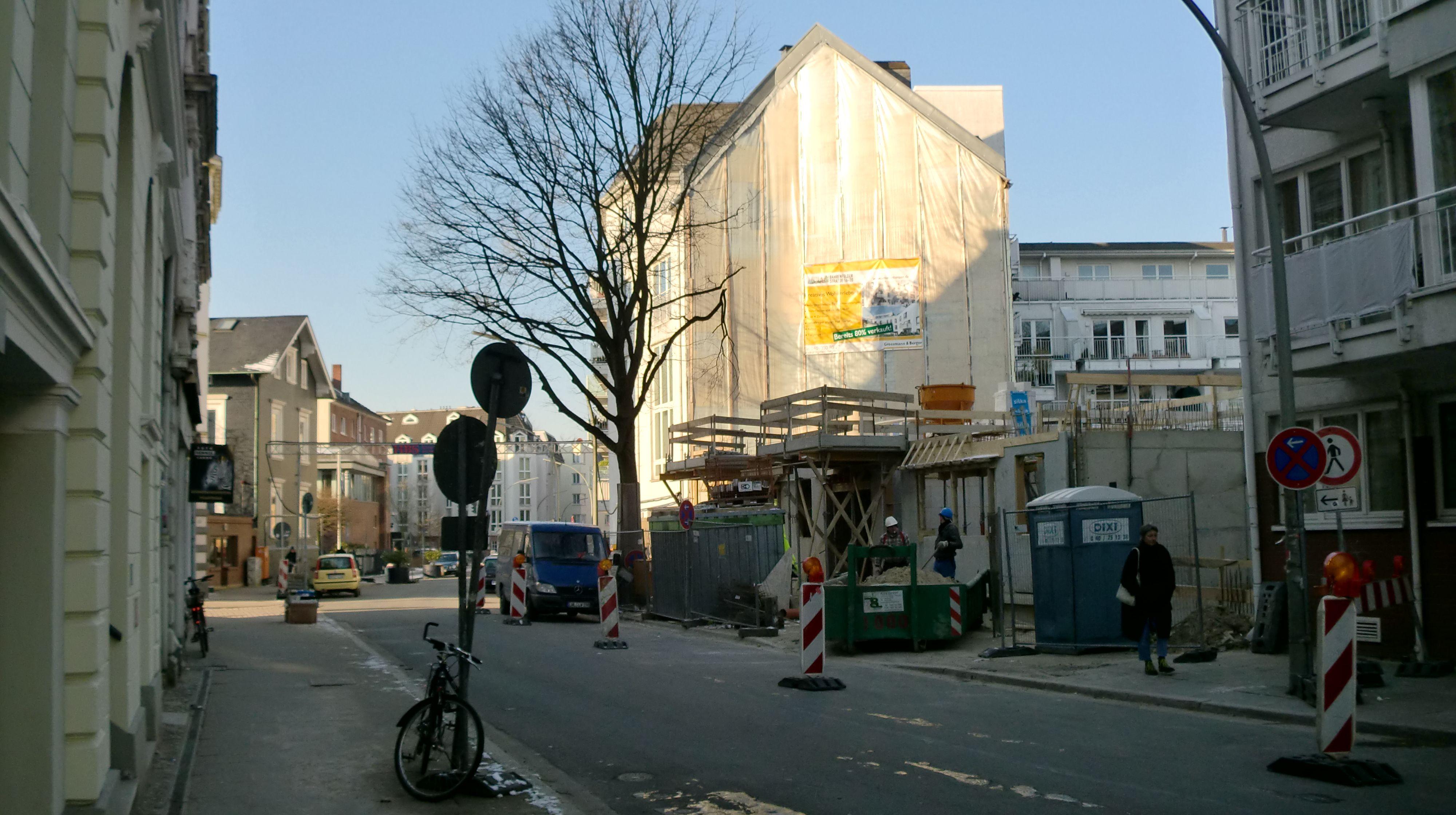 Hamburg baut - Bahrenfelder Straße am 31.01.2012