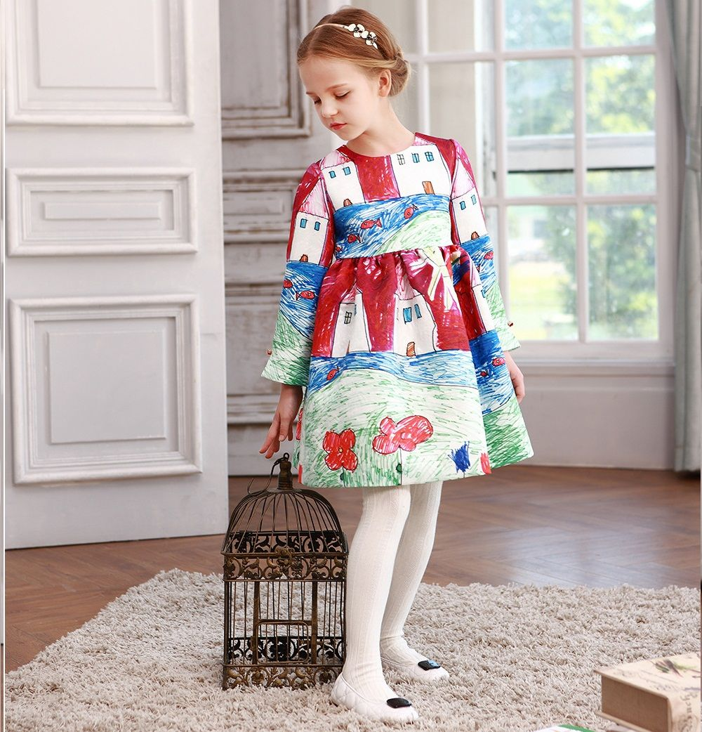 Designer long sleeve doodle dress mini fashion pinterest doodles