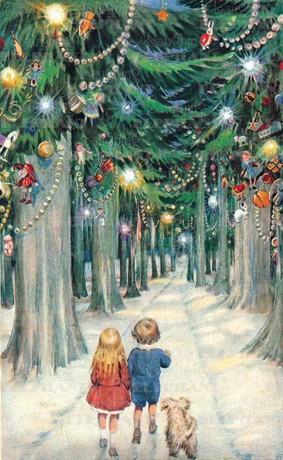 NO CUTTING 1 A4 sheet Le Suh Christmas Cats /& Decorations Die Cut 3d Decoupage Sheet