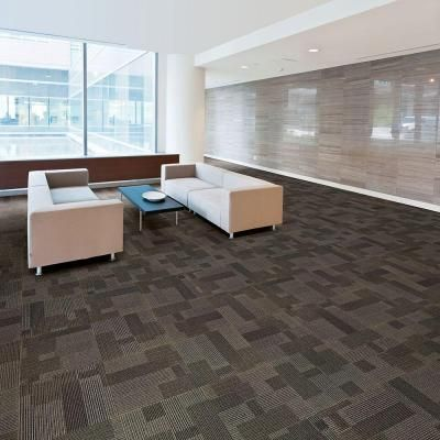 Rockefeller Hazelnut Loop 19 7 In X Carpet Tile 20 Tiles Case 707002 The Home Depot