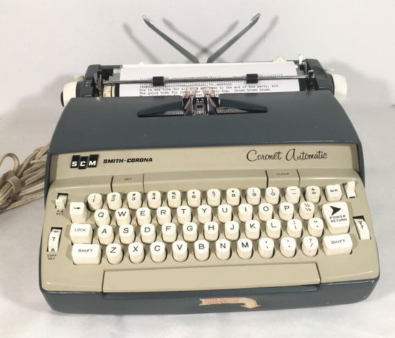 smith corona typewriter serial number