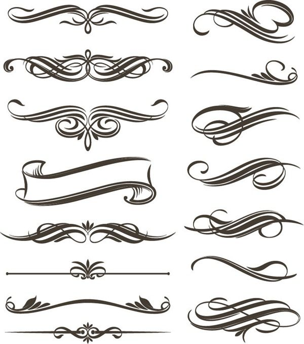 filigree clip art continue reading set of floral elements for rh pinterest com filigree clip art border free filigree clip art designs