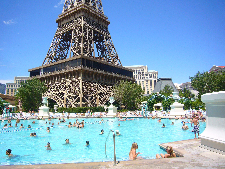 Paris Las Vegas Pool Travel