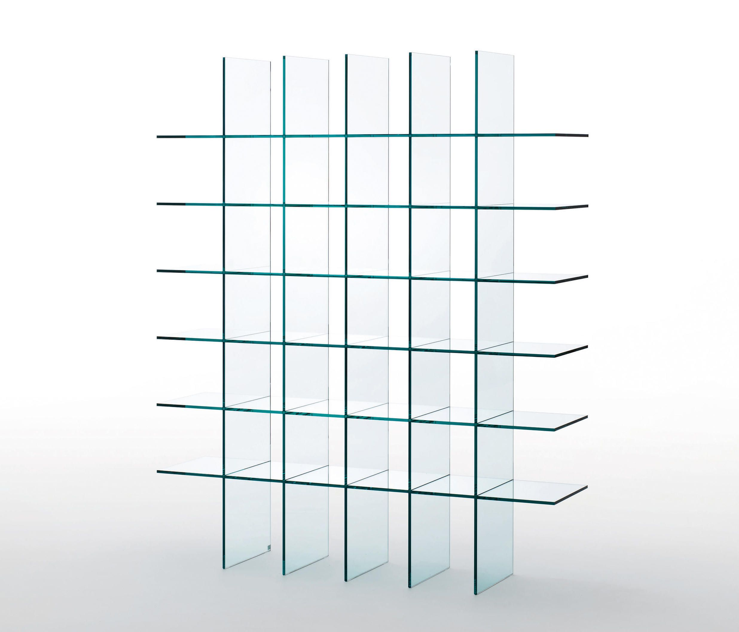 Glass Shelves 1 Designer Shelving From Glas Italia All Information High Resolution Images Cads Catalogues Glass Shelves Glass Shelves Kitchen Glass