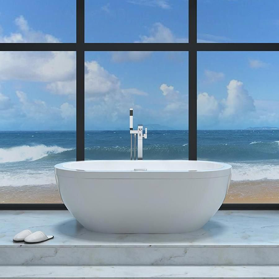 d748388e342 love this modern bathroom with this freestanding tub   ModernHomeDecorBathroom  masterbathroomwhirlpooltub