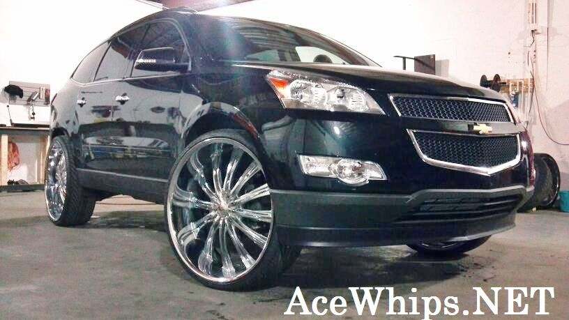 Custom Chevy Traverse Best Suv Cars Lifted Chevy Chevy