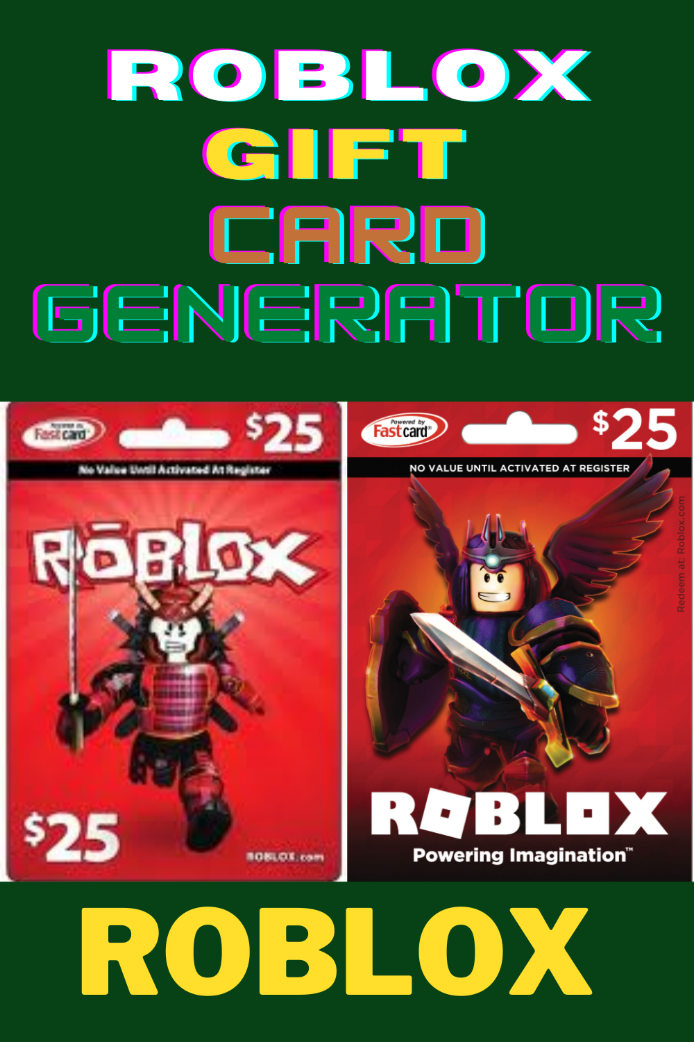 Roblox Gift Card Generator Roblox Gifts Gift Card Generator Xbox Gift Card