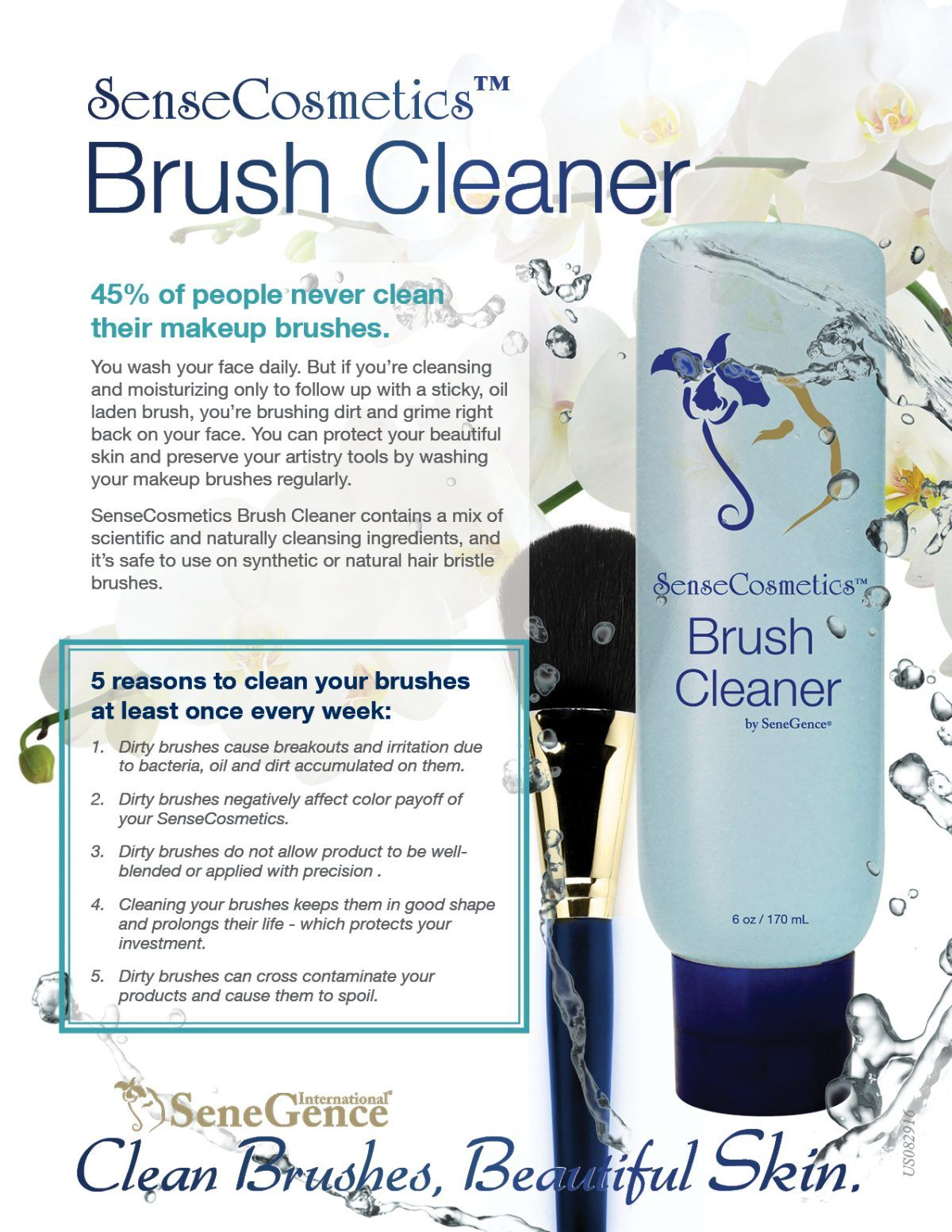 Brush Cleaner by Senegence (makers of LipSense)  Message me