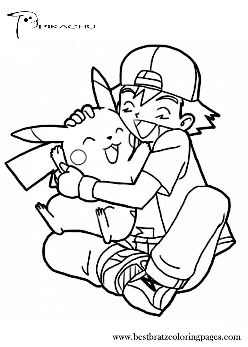 Free printable pikachu coloring pages for kids ueue ċoʟoя mє