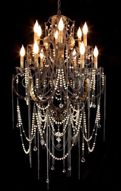 Heirloom Rosary Chandelier By Shannon Koszyk Beautiful Chandelier Chandelier Crystal Chandelier