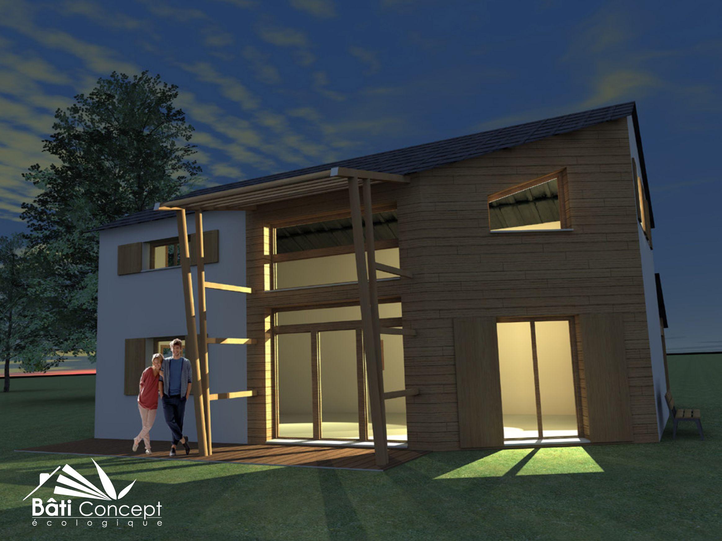 stunning bati concept ecologique contemporary. Black Bedroom Furniture Sets. Home Design Ideas