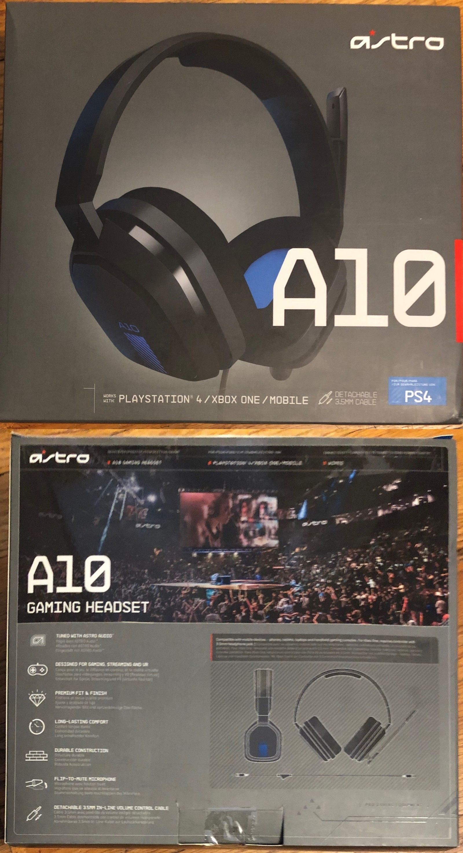 Headsets 171821: Astro A10 Gaming Headset Ps4 Xbox One