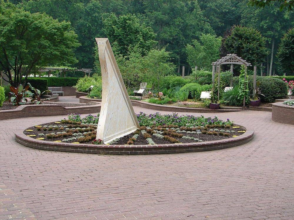 Amazing This Is The Sundial Garden In Singapore. Hint: