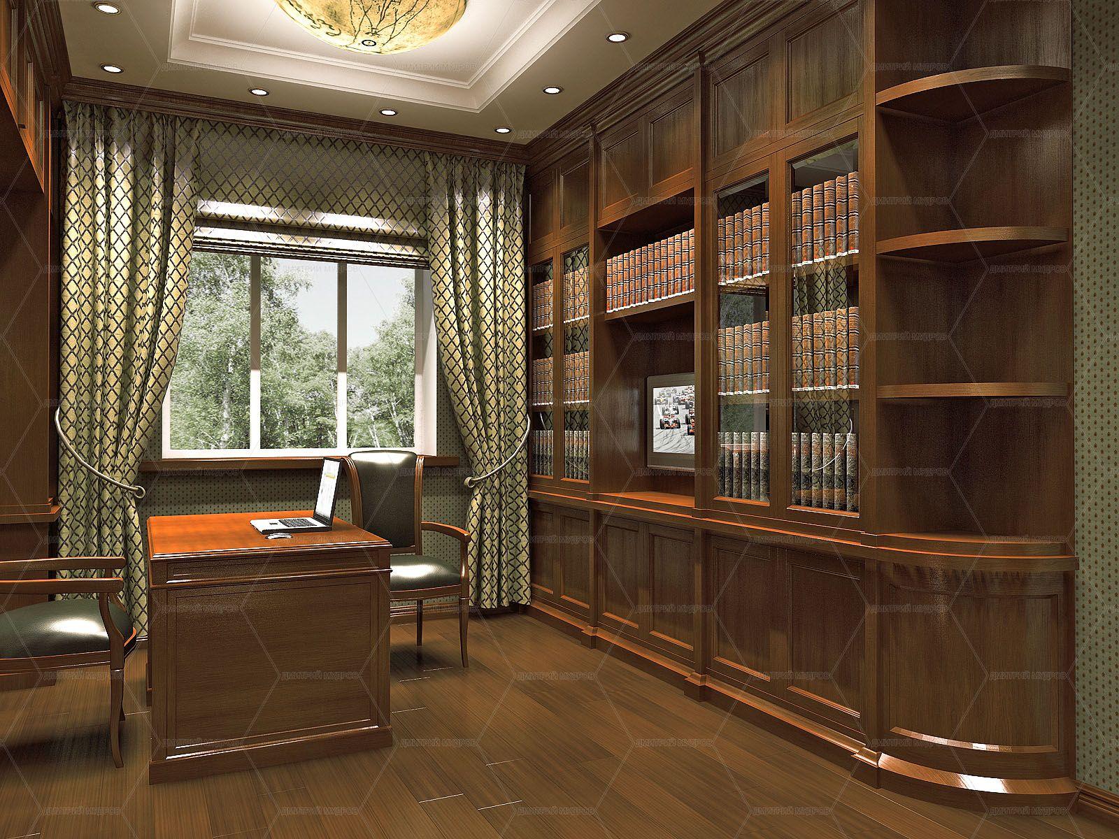 Картинки интерьера кабинета
