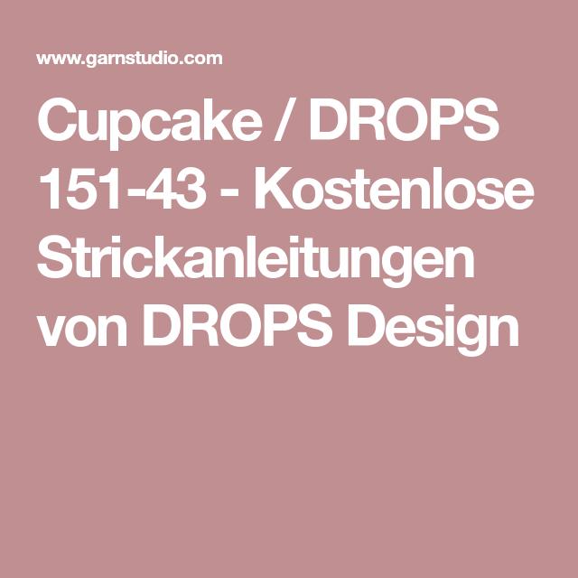 Cupcake / DROPS 151-43 - Kostenlose Strickanleitungen von DROPS ...