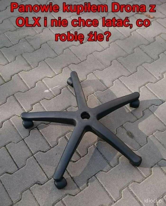 Kupiłem drona z OLX i nie lata   Wtff, Funny memes, Funny texts