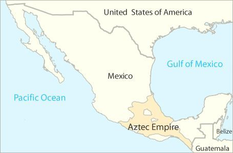 map of the Aztec empire | Aztecs | Pinterest | Aztec, Aztecs for ...