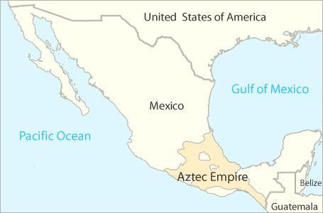 map of the Aztec empire | Aztecs | Pinterest | Aztec, Aztecs for