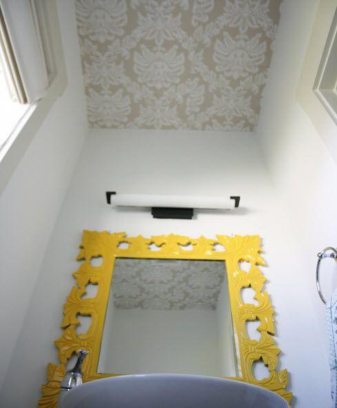 Techo de papel pintado techos ceilings techos home - Papel para techos ...