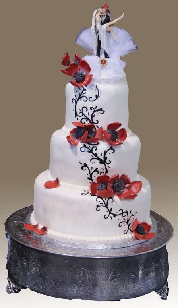 Tier runde hochzeitstorte mit schmetterlingen wie kandierte fr chte f r kuchen dekorieren zu - Hochzeitstorte dekorieren ...
