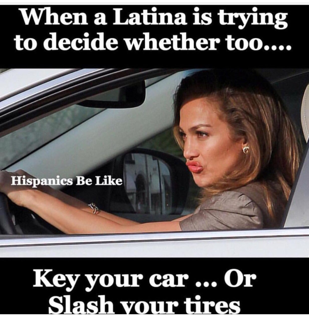 Date a Latina, they say! They are fun, they say lmao