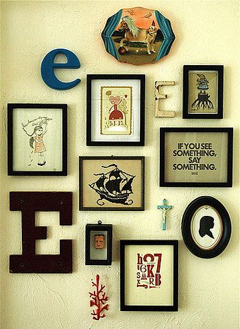letters and circles and words | Frames | Pinterest | Wall ideas ...