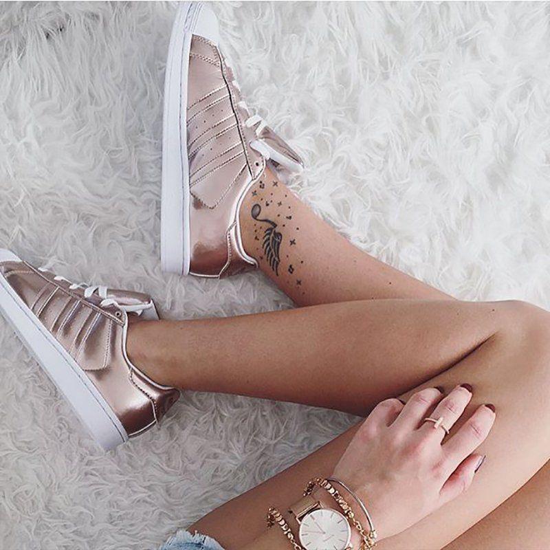 zapatillas adidas superstar mujer rosa