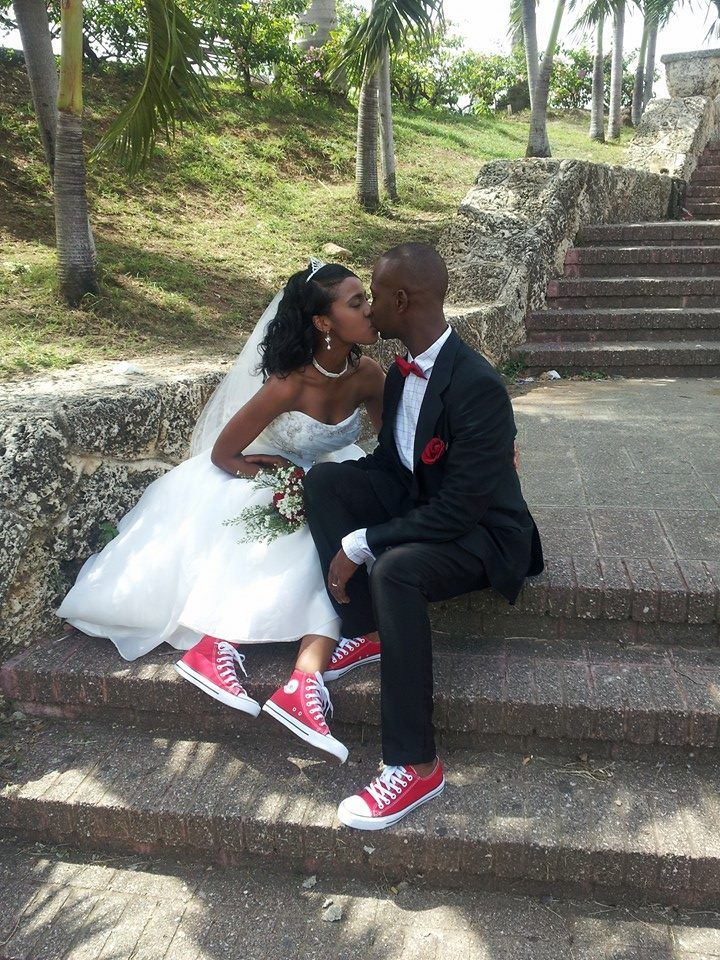 kiss #converse #wedding #love al final realice mi boda como yo