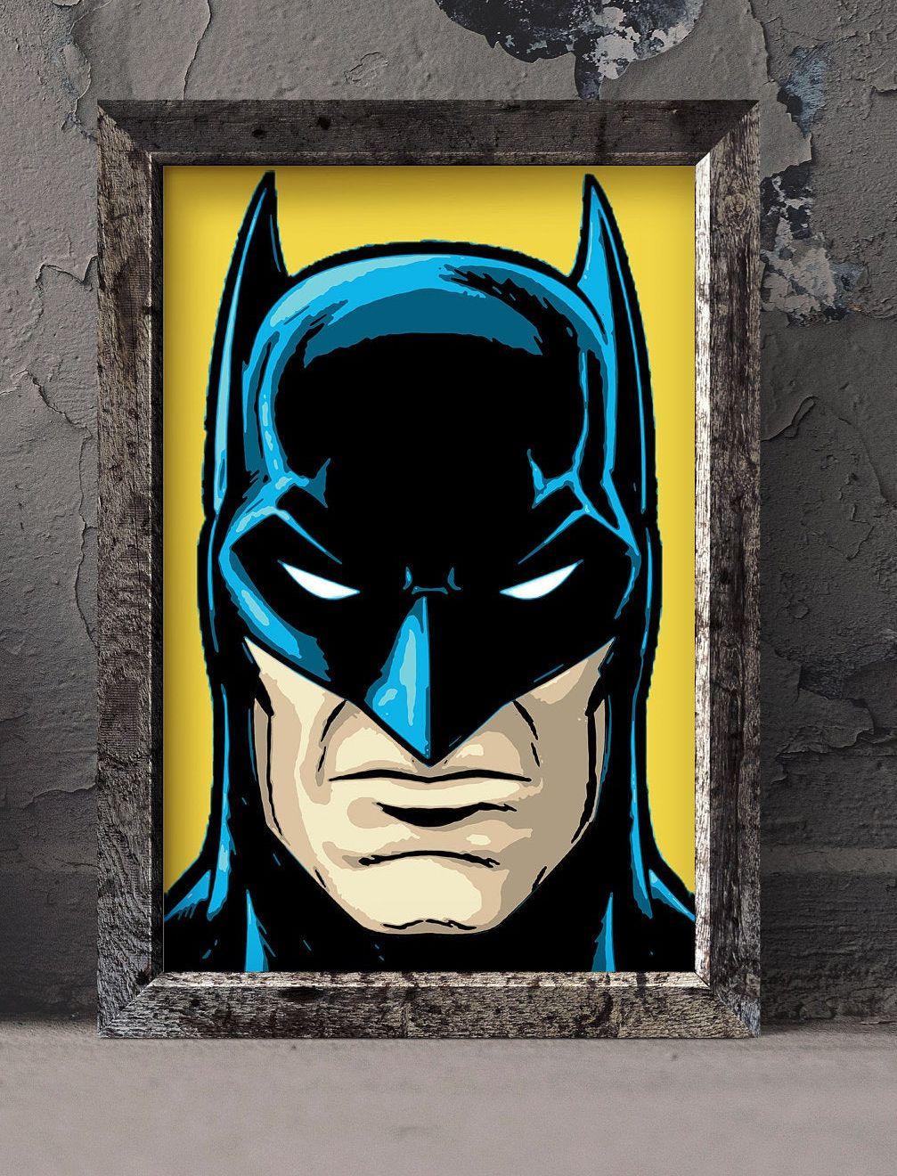 Batman Superhero Crime Fighter Justice League Decal Wall Art Sticker Picture