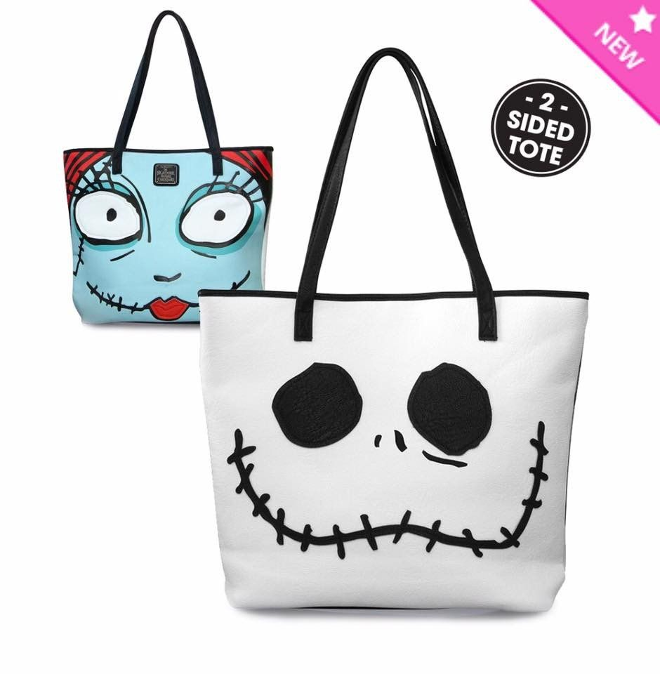 Loungefly Jack and Sally Nightmare Before Christmas Purse | Skull ...