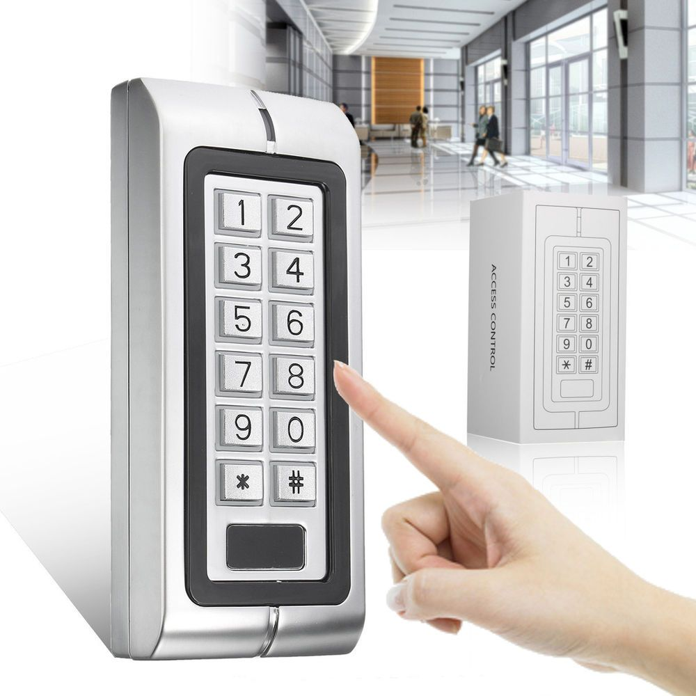 K2 Waterproof Password Keypad Card Reader Entry Door Lock Access Control System Ebay Link Access Control System Access Control Entry Door Locks