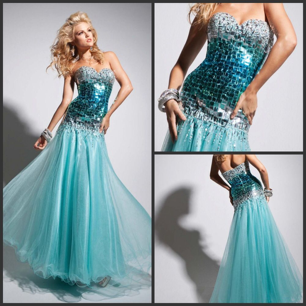 Another beautiful dress for an ocean themed prom | Homecoming/Prom ...