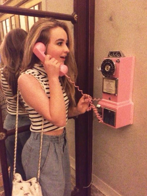 """""""Pink Telephone,"""" I'll call this."""