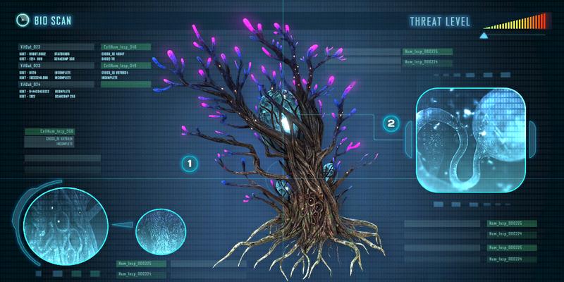 Giant Cove Tree | Subnautica in 2019 | Subnautica creatures