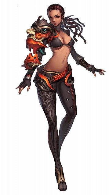 hyung tae kim blade and soul character design blade soul