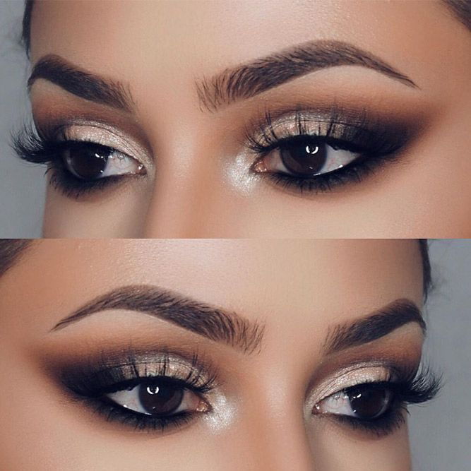 The Perfect Smokey Eye Makeup voor uw oogvorm ★ Meer zien: glaminati.com / … #eyemakeup